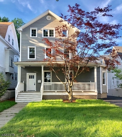 Montclair Twp. Single Family Home For Sale: 9 Union St