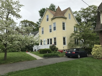 Nutley Twp. Single Family Home For Sale: 406 Hillside Ave