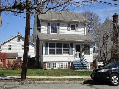 West Orange Twp. Single Family Home For Sale: 56 Valley Way