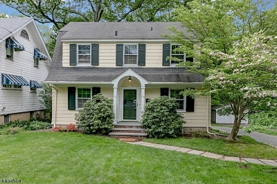 Maplewood Twp. Single Family Home For Sale: 36 Maplewood Ave