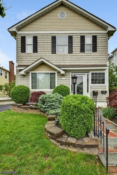 Millburn Twp. Single Family Home For Sale: 37 Ocean St