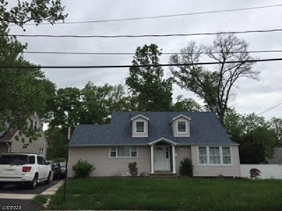 Roselle Boro Single Family Home For Sale: 510 W 7th Ave