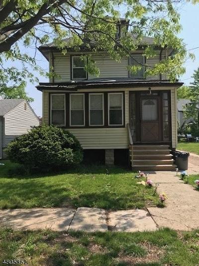 Roselle Boro Single Family Home For Sale: 1243 Chestnut St
