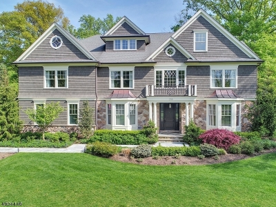 Millburn Twp. Single Family Home For Sale: 258 Long Hill Drive