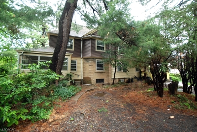 Essex County, Morris County, Union County Multi Family Home For Sale: 142 Watchung Ave