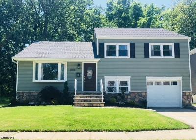 Rahway City Single Family Home For Sale: 626 Elm Ave