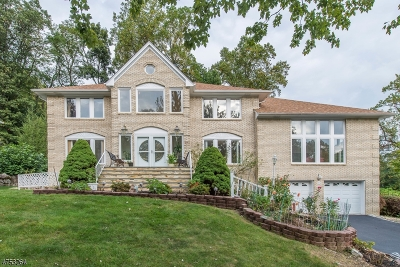 Parsippany-Troy Hills Twp. Single Family Home For Sale: 31 Meadow Bluff Rd