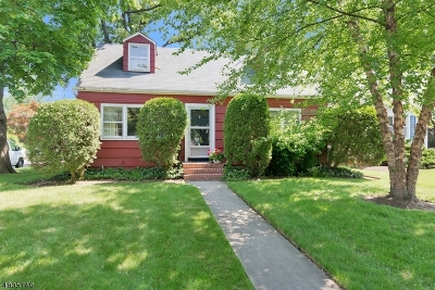 Cranford Twp. Single Family Home For Sale: 46 Elizabeth Ave