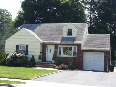 Nutley Twp. Single Family Home For Sale: 354 Bloomfield Ave