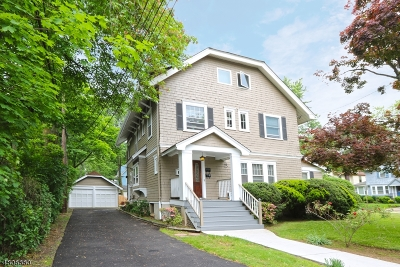 Montclair Twp. Multi Family Home For Sale: 752 Valley Rd