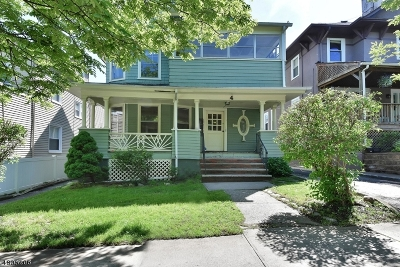 Montclair Twp. Multi Family Home For Sale: 4 Club St