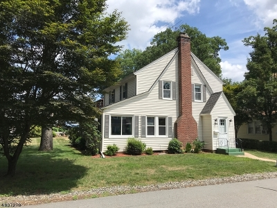 Boonton Town Single Family Home For Sale: 64 Dixon Ave
