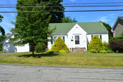 Boonton Town Single Family Home For Sale: 410 Oak St