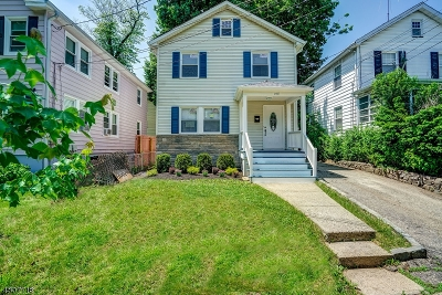 Montclair Twp. Single Family Home For Sale: 150 Willowdale Ave
