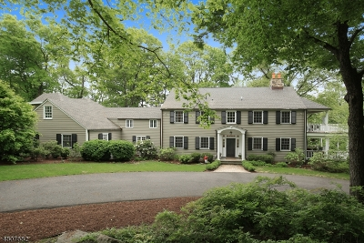 Bernardsville Boro Single Family Home For Sale: 303-1 Hardscrabble Road