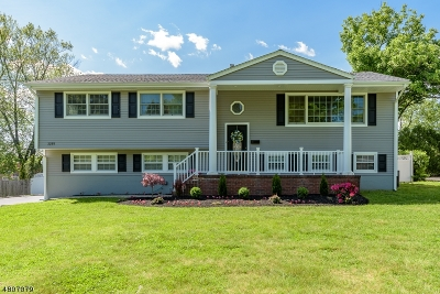 Scotch Plains Twp. Single Family Home For Sale: 2255 Old Farm Rd
