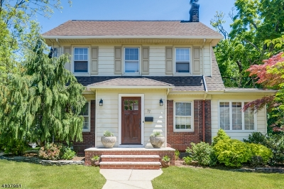 Maplewood Twp. Single Family Home For Sale: 17 Collinwood Rd