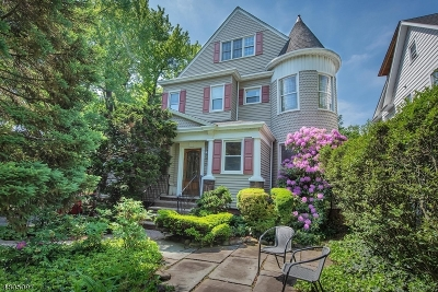 Montclair Twp. Multi Family Home For Sale: 140 Bellevue Ave