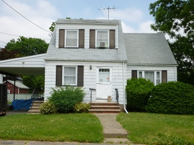 Nutley Twp. Single Family Home For Sale: 14 Mount Vernon St