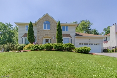 Parsippany-Troy Hills Twp. Single Family Home For Sale: 12 Worcester Ct