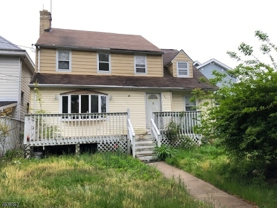 Elizabeth City Single Family Home For Sale: 418-422 Jersey Ave