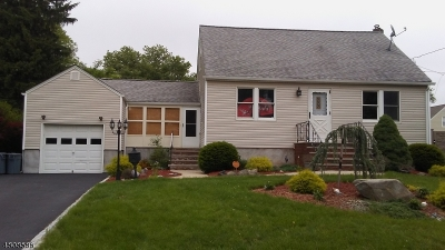 Kenilworth Boro Single Family Home For Sale: 411 N 16th St