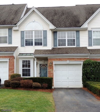 Nutley Twp. Condo/Townhouse For Sale: 108 Barclay Dr