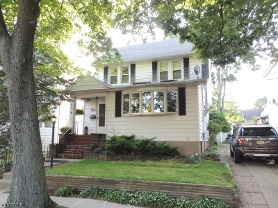 Passaic City Single Family Home For Sale: 8 Orth Ave