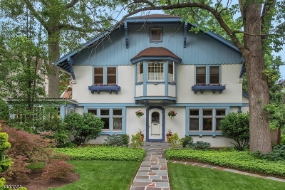 Montclair Twp. Single Family Home For Sale: 57 Melrose Pl