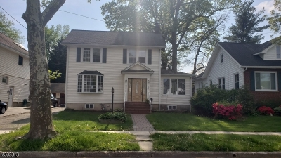 Cranford Twp. Single Family Home For Sale: 502 High St