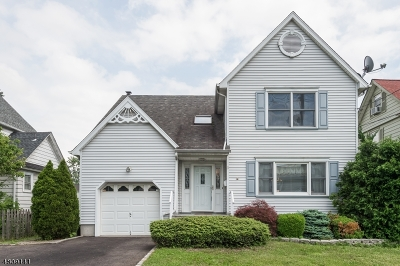 Cranford Twp. Single Family Home Active Under Contract: 3 Burnside Ave