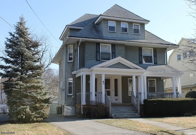 Montclair Twp. Single Family Home For Sale: 85 Christopher St