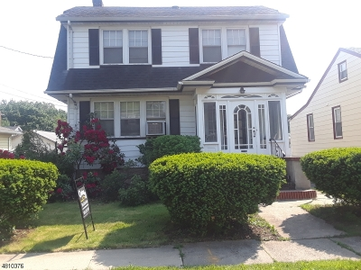 RAHWAY Single Family Home Active Under Contract: 172 W Inman Ave