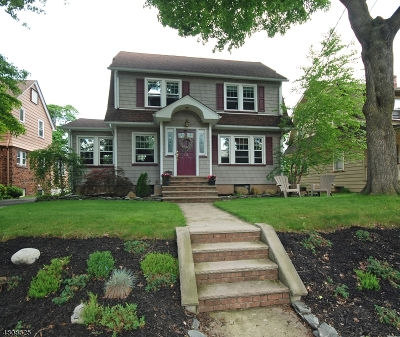 Nutley Twp. Single Family Home For Sale: 111 Alexander Ave