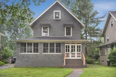 Montclair Twp. Single Family Home For Sale: 310 N Fullerton Ave
