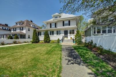 Montclair Twp. Single Family Home For Sale: 54 Elm St