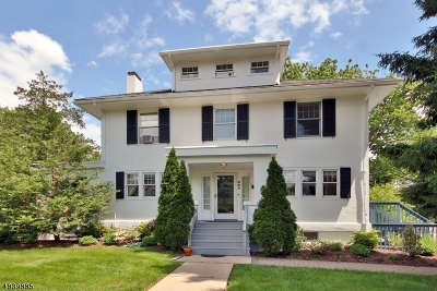 Montclair Twp. Single Family Home For Sale: 685 Valley Rd