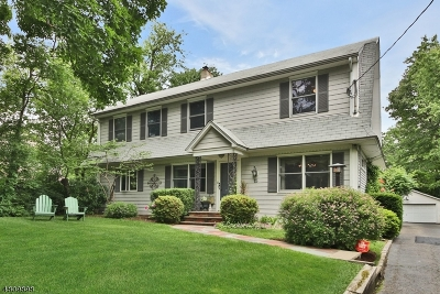 Montclair Twp. Single Family Home For Sale: 15 Alexander Ave