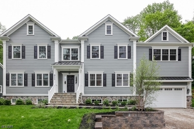 Chatham Twp. Single Family Home For Sale: 611 Fairmount Ave