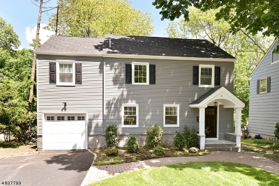 Montclair Twp. Single Family Home For Sale: 31 Marquette Rd