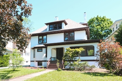 Montclair Twp. Single Family Home For Sale: 31 Brunswick Rd
