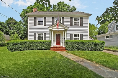 Morristown Town Single Family Home For Sale: 26 Olmstead Rd