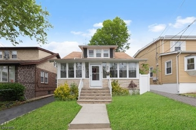 HILLSIDE Single Family Home For Sale: 315 Winans Ave