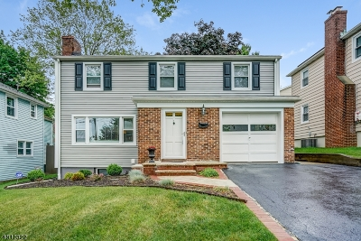 West Orange Twp. Single Family Home For Sale: 32 Lincoln Ave