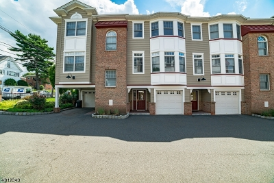Nutley Twp. Condo/Townhouse For Sale: 97 Passaic Ave