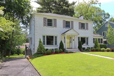 West Orange Twp. Single Family Home For Sale: 22 Carter Rd