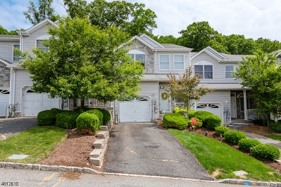 Parsippany-Troy Hills Twp. Condo/Townhouse For Sale: 257 Summerhill Dr