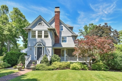 Montclair Twp. Single Family Home For Sale: 181 Fernwood Ave