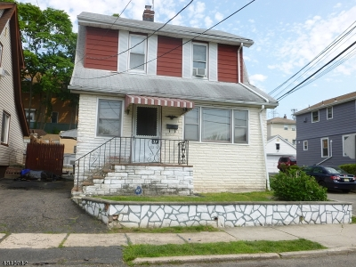 Nutley Twp. Single Family Home For Sale: 37 Gless Ave