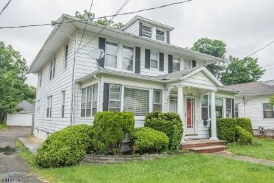Boonton Town Multi Family Home For Sale: 310 Dawson Ave